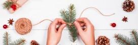 Bricolage de Noël: 10 déco sapin à fabriquer soi-même