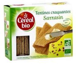 rappel produit, tartines craquantes au sarrasin, cereal bio, Auchan