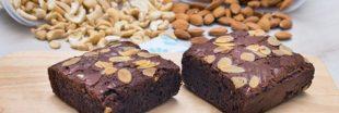 Recette bio : l'inimitable brownie aux noix de cajou