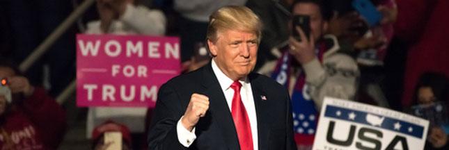 Donald Trump: les premières annonces du 45ème président des États-Unis