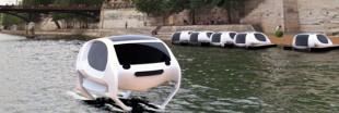Projet de taxis volants sur la Seine : des tests en mars 2017... non, dans l'été 2018