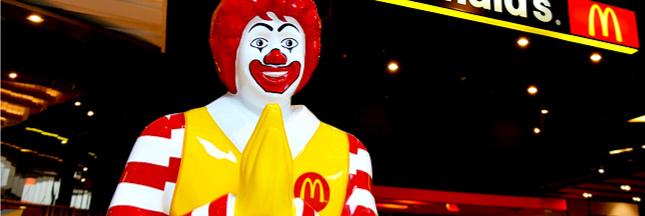 Un McDonald's au Saint-Siège