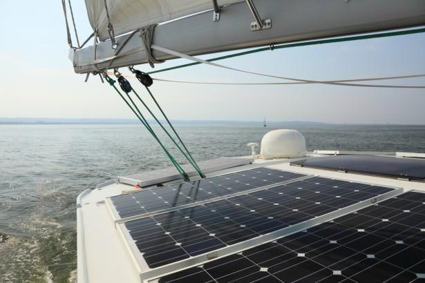 voilier, panneau solaire, Vagabonds de l'énergie