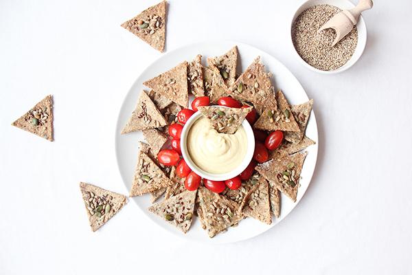 Crackers maison aux graines Il était une noix