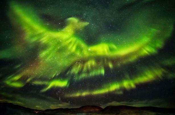 aurores boréales, Hallgrimur P. Helgason