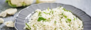 Recette bio : couscous de chou-fleur cru