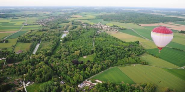 forêts de protection, Fontainebleau, montgolfière