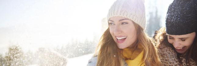 Soleil, montagne et grand air: bons pour le moral, pas pour les cheveux en hiver!