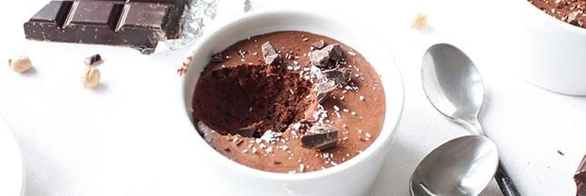 La mousse au chocolat vegan à l'aquafaba