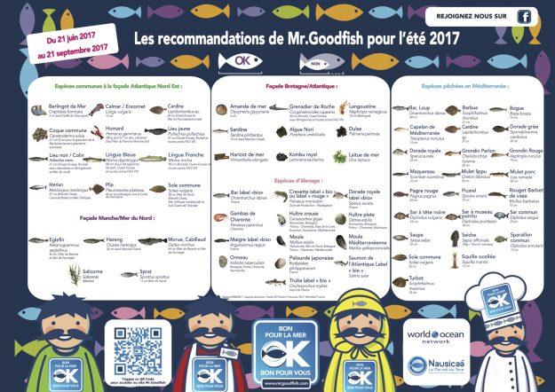 Mr Goodfish, poster saison été 2017