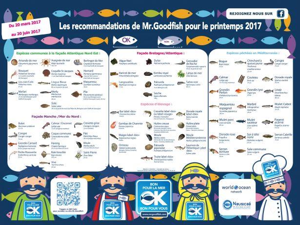 Mr Goodfish, poster saison pritemps 2017