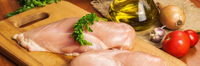 Attention aux stries blanches sur vos morceaux de poulet !