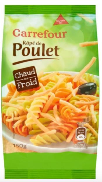rappel produit, rpé de poulet, Carrefour