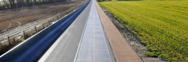 La route photovoltaïque arrive en région parisienne