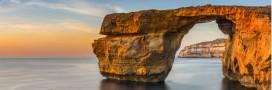 Malte: l'emblématique Azure Window n'est plus!