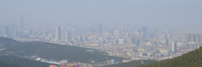 La Chine veut retrouver son ciel bleu