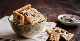 Crackers maison healthy aux graines