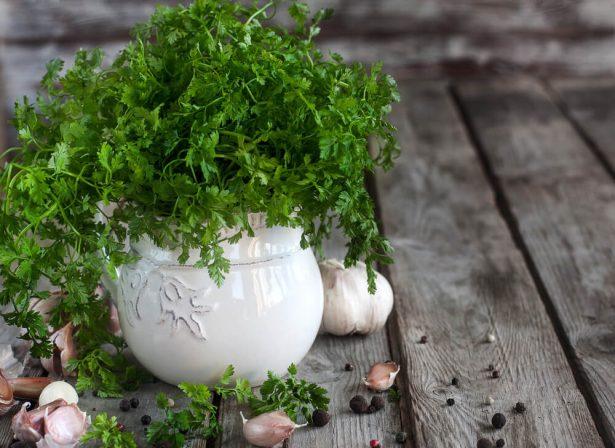 cuisine panier de légumes mars, cerfeuil