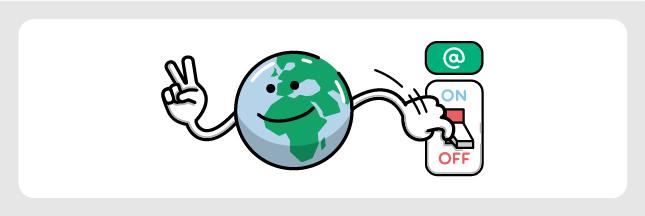 Earth Hour : Et si on éteignait (aussi) les Internets pendant 1 heure ?