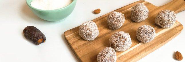 recette des energy balls pomme cannelle. Black Bedroom Furniture Sets. Home Design Ideas