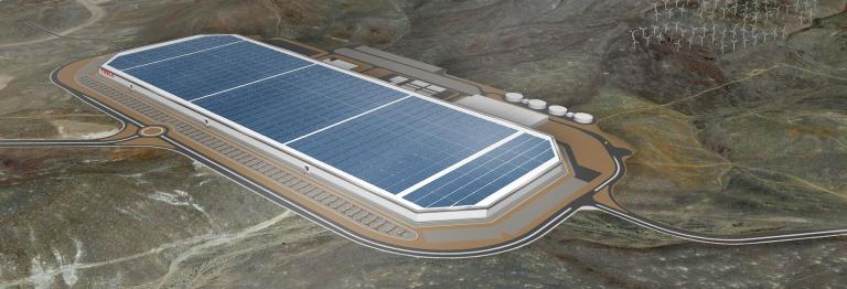 La Gigafactory Tesla pour démocratiser la voiture électrique