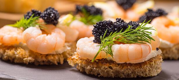moules enceinte, fruits de mer liste