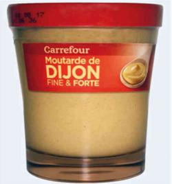 rappel produit, moutarde de Dijon