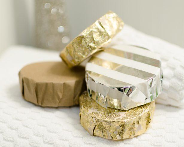 savon à raies d'or