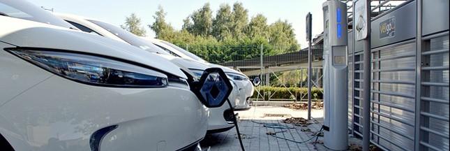 Voitures électriques: plus de prises dans les parkings