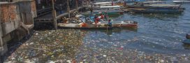 Du Diesel pour les bateaux à partir du plastique des océans