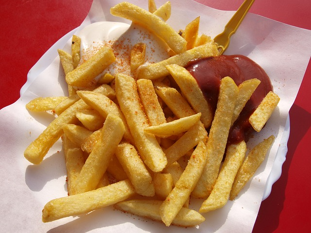 frites, betterave