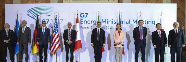 Aucun accord trouvé au G7 Energie sur le changement climatique