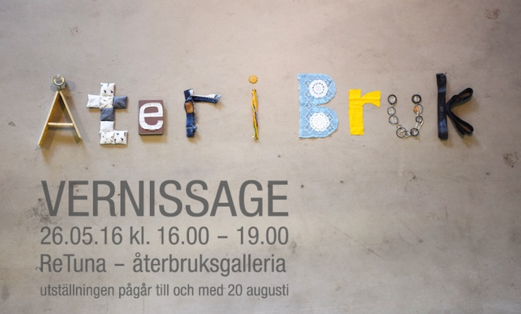 ReTuna, ReTuna Återbruksgalleria, galerie éthique