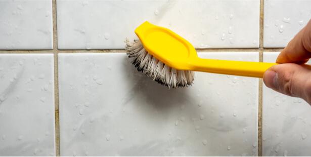 nettoyer salle de bain joints