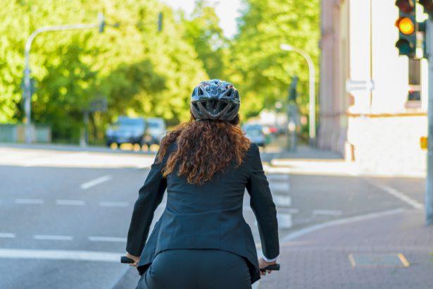 travail à vélo