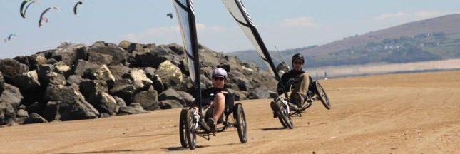 Whike invente le vélo à voile. Et ça décoiffe !
