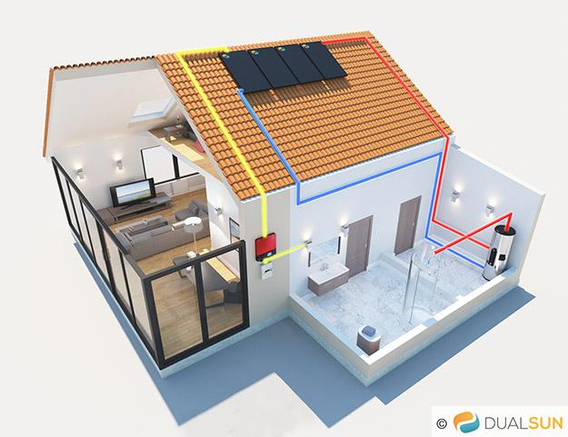 Dualsun Le Panneau Solaire Hybride Thermique Et Photovoltaque