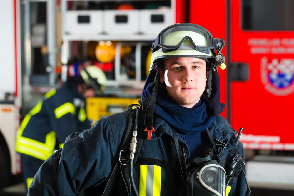 engagement citoyen, pompier