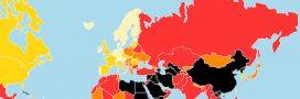 Classement mondial de la liberté de la presse: où est la France?