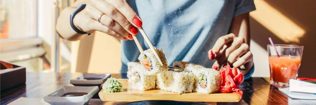 Sushi : mieux vaut arrêter tout de suite !