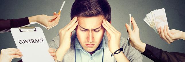 Sondage : Êtes-vous victime de stress au travail ?