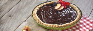 Recette sans gluten : tarte au chocolat noir et à la noix de coco