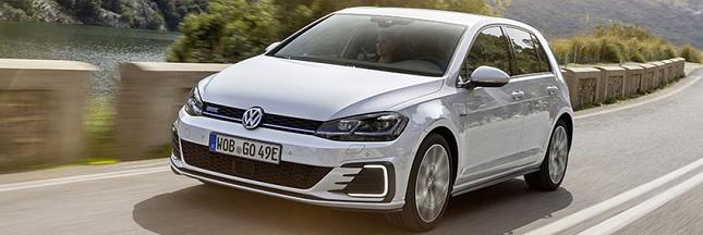 Electrique ou essence d'une simple pression de bouton : adoptez la Golf GTE, 3 voitures en une !