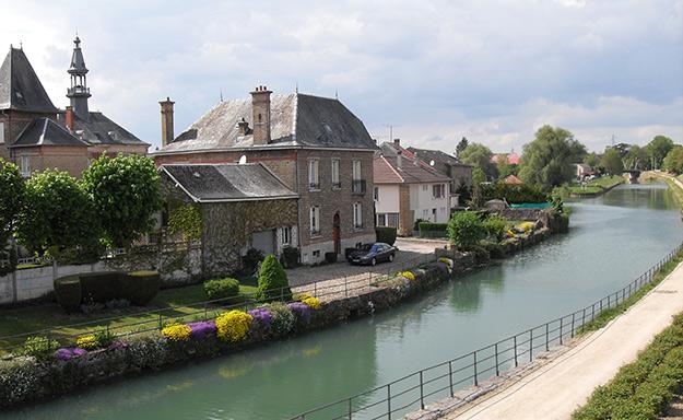 Europe à vélo Meuse