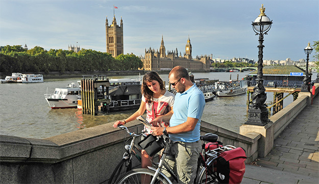 Londres Paris europe à vélo