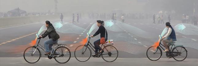 Ce vélo purifie l'air quand vous pédalez