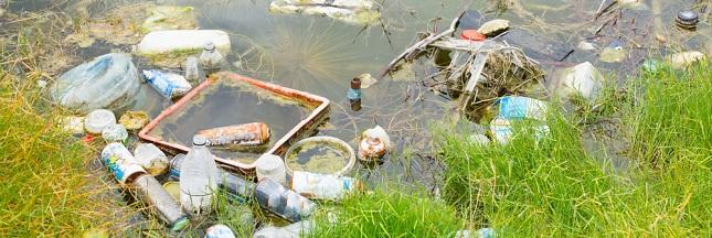 Combien de plastique dans les océans provient des rivières ?