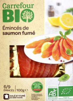 rappel produit, saumon fumé bio