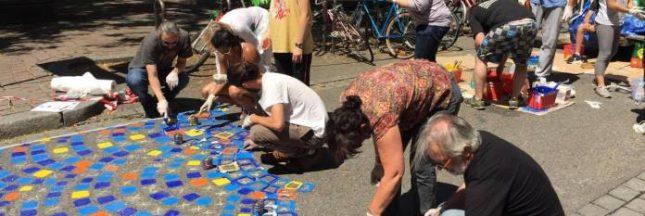 Piétonne, végétale, colorée: comment les citoyens se réapproprient une rue de Strasbourg