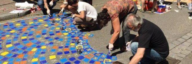 Piétonne, végétale, colorée : comment les citoyens se réapproprient une rue de Strasbourg